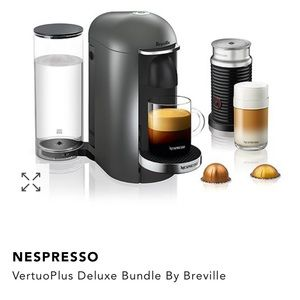 Nespresso Vertuo Plus Deluxe Bundle